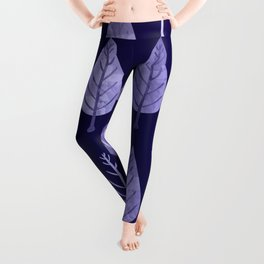 Watercolor Forest Pattern #8 Leggings