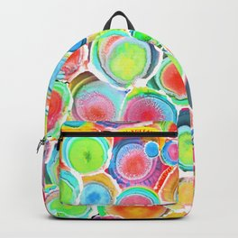 Sunshine on Your Spotty Mind (Alcohol Inks Series 07) Backpack