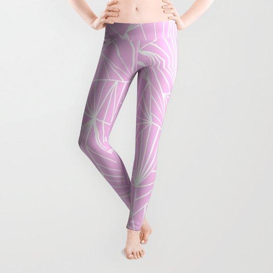 Ab Fan Pink Leggings