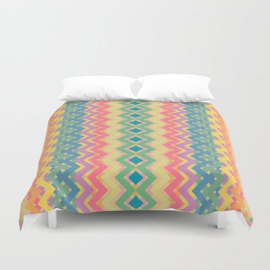 Summer-color Pattern Duvet Cover