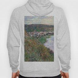 1880-Claude Monet-View of Vétheuil-65 x 81 Hoody