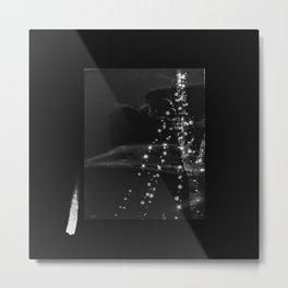 Vague Lights Metal Print