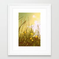 country Framed Art Prints featuring Country by Natalie Reed