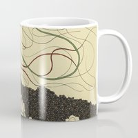 hawaiian Mugs featuring first hawaiian by thefleafarm (Amy Wright)