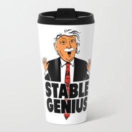 Trump Stable Genius Travel Mug