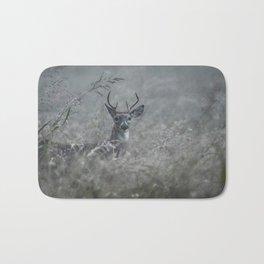 Foggy Morning Buck Bath Mat