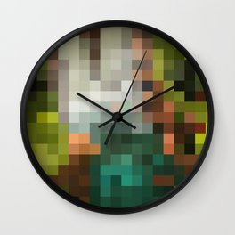 The geometric pattern Wall Clock