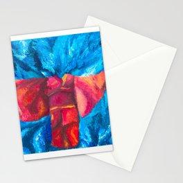water kimono Stationery Cards