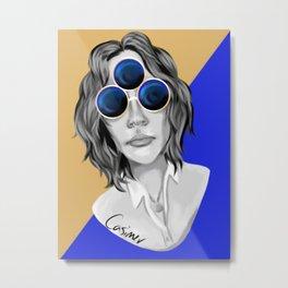 Three-eyed Metal Print