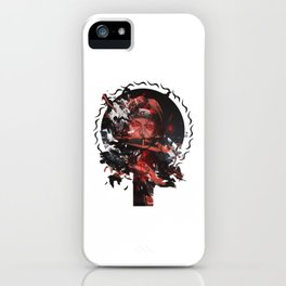 Uchiha Akatsuki ninja iPhone Case