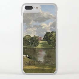 John Constable Wivenhoe Park, Essex 1816 Painting Clear iPhone Case