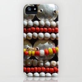 Tribal Beads iPhone Case