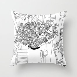 Muswell Hill II Throw Pillow