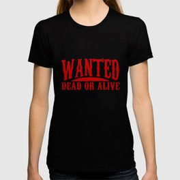 Old West Collectible Wanted Wild West Collection T-shirt