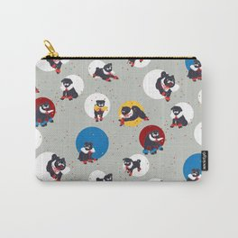 Pug Party Carry-All Pouch
