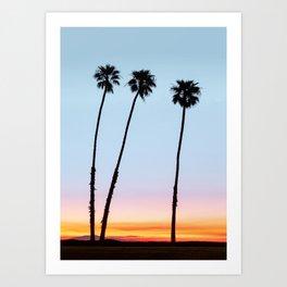 Sunrise on the Ocean Coast Art Print