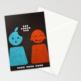 she loves you yeah yeah yeah Stationery Cards