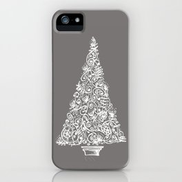 A Christmas tree in New Zealand iPhone Case