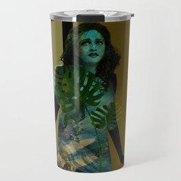 The Blue Girl Travel Mug