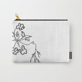 Flowers #3 Carry-All Pouch
