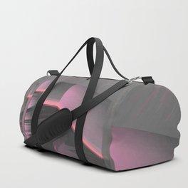 Claraboya, Geodesic Habitacle, Pink neon room Duffle Bag