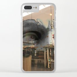 visible parlare Clear iPhone Case