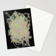 Electric Yarn Ball Stationery Cards
