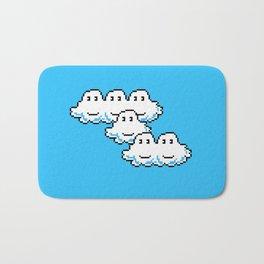 Super Mario Clouds Bath Mat