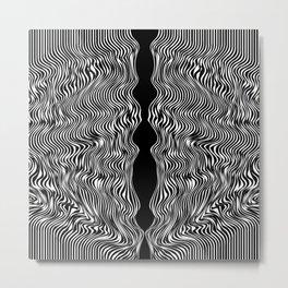BLK Metal Print