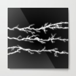 Thunder stripe Metal Print