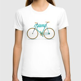 Miami Typo - Bike T-shirt