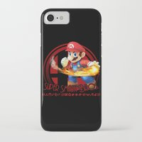 mario bros iPhone & iPod Cases featuring Mario - Super Smash Bros. by Donkey Inferno
