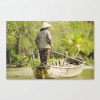 vietnam Canvas Prints featuring Vietnam by Mattea Weihe