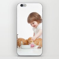 child iPhone & iPod Skins featuring Child by iD70my