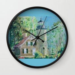 White River Light Station Wall Clock