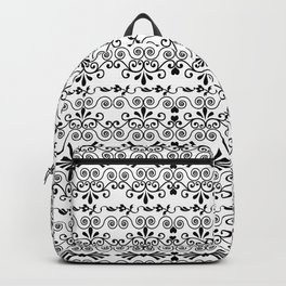 Curls And Hearts Backpack