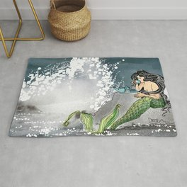 Shore break Rug
