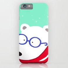 Hipster Polar Bear iPhone 6s Slim Case
