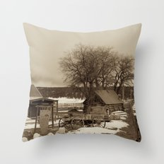 Cowboys Mess Hall Throw Pillow