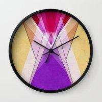 vagina Wall Clocks featuring raymiss by .eg.