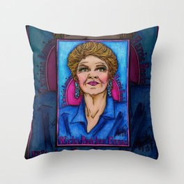 Pat Throw Pillow