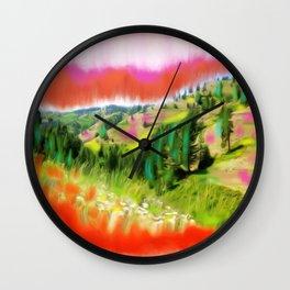 Nez Perce Idaho Wall Clock