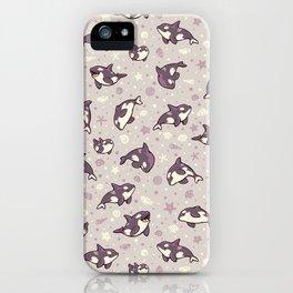 Jelly bean orcas iPhone Case