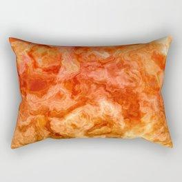 Fire Marble Rectangular Pillow