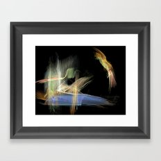 The Humming Bird Framed Art Print