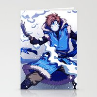 cryaotic Stationery Cards featuring Snow Bender Cryaotic by Gabbi