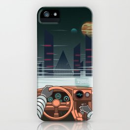 Night driver iPhone Case