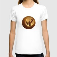 football T-shirts featuring Football by Anastassia Elias