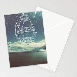 Sail the Skies Stationery Cards