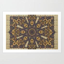 Mandala - The Night Bazaar Art Print